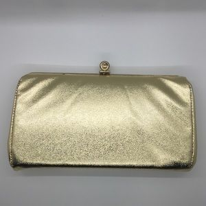 Vintage golden clutch